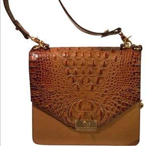 Brahmin Ophelia Toasted Almond Vivaldi Handbag